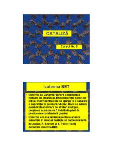 Cataliza - Curs 6 - Pagina 1