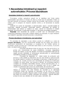 Intretinerea si Repararea Autovehiculelor Rutiere - Pagina 1