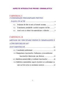 Aspecte Introductive privind Criminalistica - Pagina 1