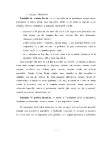 Analiza Reflectarii Principiilor Impunerii in Activitatea Economica a Unor Firme din Romania - Pagina 4
