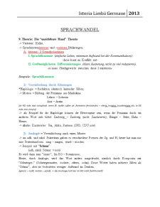 Istoria Limbii Germane - Pagina 1