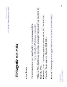 Prelucrarea Semnalelor - Pagina 2