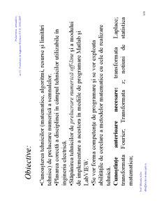 Prelucrarea Semnalelor - Pagina 3