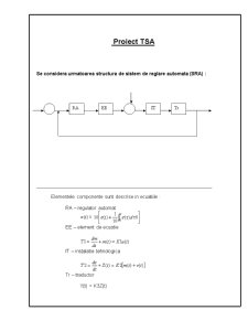 Teoria Sistemelor Automate - Pagina 1