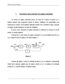 Sisteme și Legi de Reglare - Pagina 1