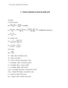 Chimie Fizica - Pagina 1