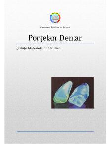 Structura Portelan Dentar - Pagina 1