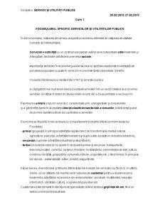 Servicii și Utilități Publice - Pagina 1