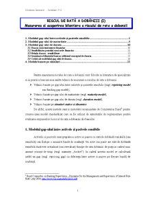 Gestiune Bancara - Seminariile 5-6 - Pagina 1