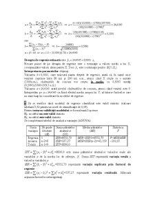 Modele Unifactoriale de Regresie - Pagina 3