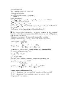 Modele Unifactoriale de Regresie - Pagina 4