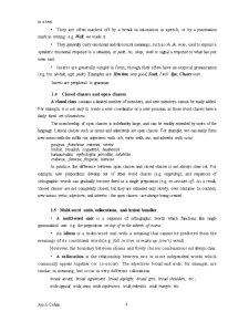 Word and Word Classes - Pagina 4