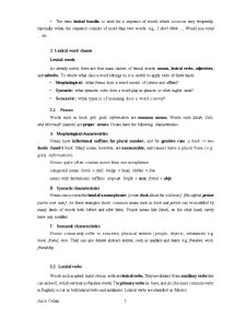 Word and Word Classes - Pagina 5