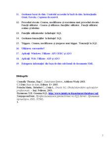 Tehnologia Client-Server in Arhitectura Sistemelor de Baze de Date Modele de Arhitectura - Pagina 2