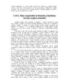 Piata Asigurarilor si Incidenta ei Asupra Economiei - Pagina 2