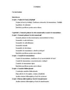 Sisteme de Transmisiuni - Pagina 1