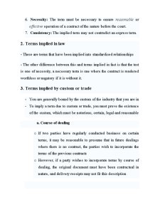 Law of Contract - Pagina 2