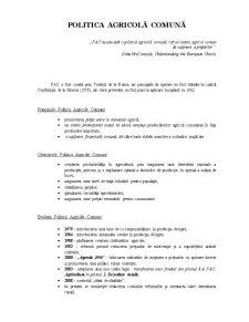 Politici de Dezvoltare Durabila in Uniunea Europeana - Pagina 1