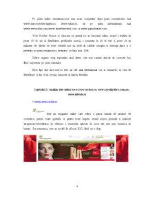 Analiza Comparativa a Site-urilor de Comert Electronic - Cosmetice - Pagina 4