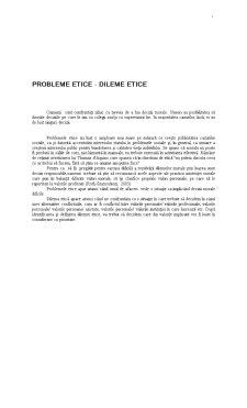 Probleme Etice - Pagina 1