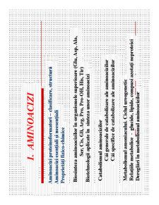 Proprietati Generale Aminoacizi - Pagina 4