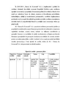 Produse Creditare a Bancii - Pagina 2