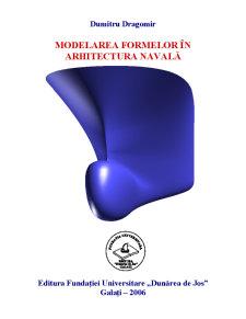 Modelarea Formelor în Arhitectura Navală - Pagina 1