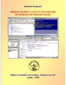 Programarea Calculatoarelor și Limbaje de Programare - Pagina 1