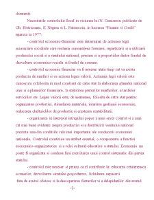 Scurta Sinteza asupra Controlului Fiscal in Romania - Pagina 2