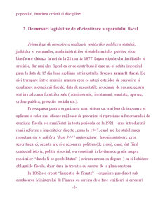 Scurta Sinteza asupra Controlului Fiscal in Romania - Pagina 3