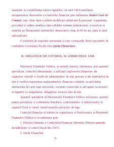 Scurta Sinteza asupra Controlului Fiscal in Romania - Pagina 4