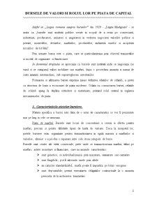 Bursele de Valori si Rolul lor pe Piata de Capital - Pagina 3