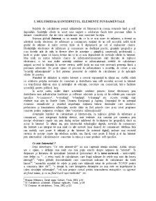 Multimedia și Internetul. Elemente Fundamentale - Pagina 1