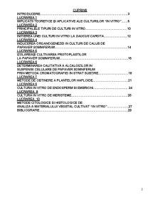Culturi în Vitro - Pagina 2