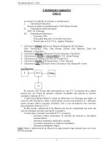 Calculatoare Numerice - Pagina 1