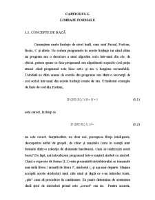 Limbaje Formale și Automate - Pagina 1