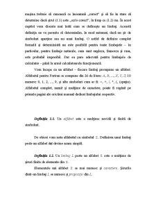 Limbaje Formale și Automate - Pagina 2