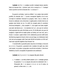 Limbaje Formale și Automate - Pagina 4
