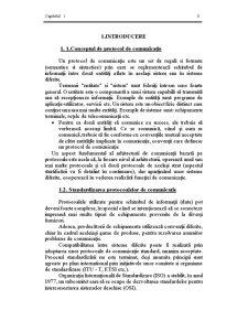 Protocoale de Comunicație - Pagina 1