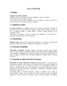 Contabilitatea Institutiilor Publice Curs 5 Stocuri - Pagina 1