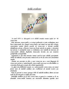 Bolile Ereditare - Pagina 1