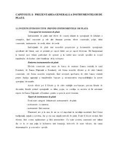 Gestiunea Instrumentelor și Modalităților de Plată în Sistemul Bancar Românesc - Pagina 4