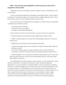 Droguri - Istoric - Pagina 1