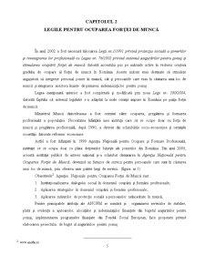 Reforma Sistemului de Protecție a Șomerilor în România și Impactul Acesteia - Pagina 5