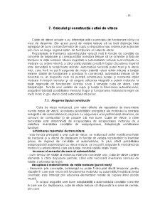 Calculul și Construcția Cutiei de Viteze - Pagina 1