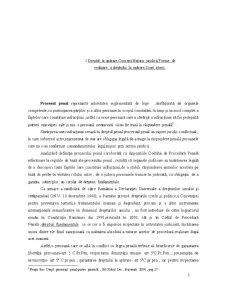 Istoricul Dreptului la Aparare - Pagina 1