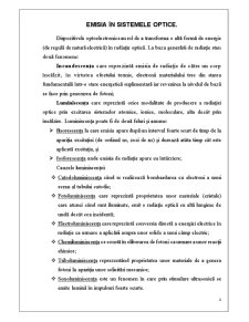 Emițătorii Optici și Domenii de Aplicare - Pagina 4