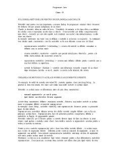 Programare Java - Curs - Pagina 1