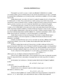 Analiza Dispersionala - Pagina 1