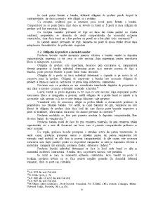 Efectele Contractului de Vanzare-Cumparare - Pagina 4